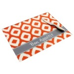 Bon+Appetit+Large+Cutting+Board+in+Orange+Ikat