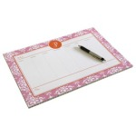 Custom+Desk+Planner+in+Pink+Damask