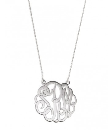 Bauble Bar Monogram Necklace