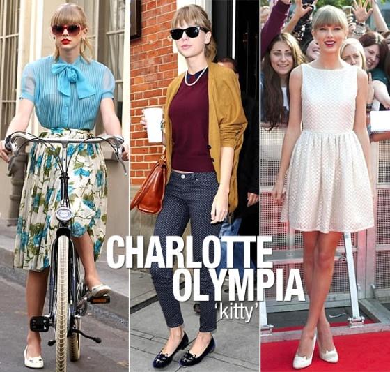 Taylor Swift, Charlotte Olympia Kitty