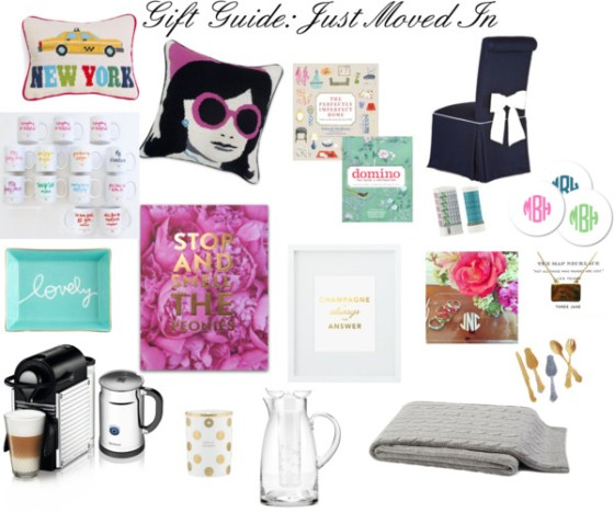 Gift Guide: Just Moved In