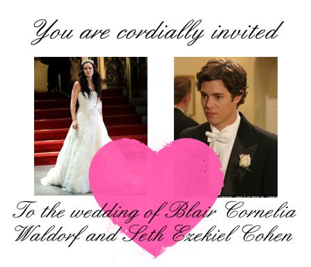 Blair Waldorf and Seth Cohen Engaged
