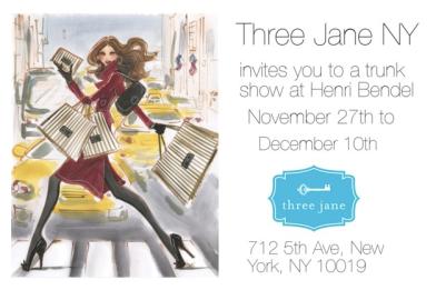 Three Jane NY Henri Bendel