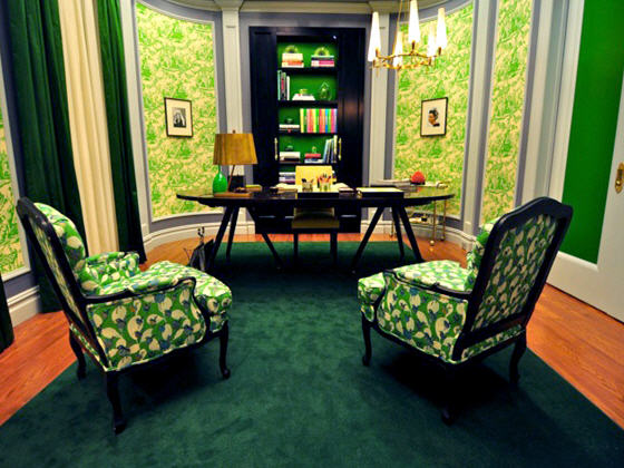 Blair Waldorf's Office