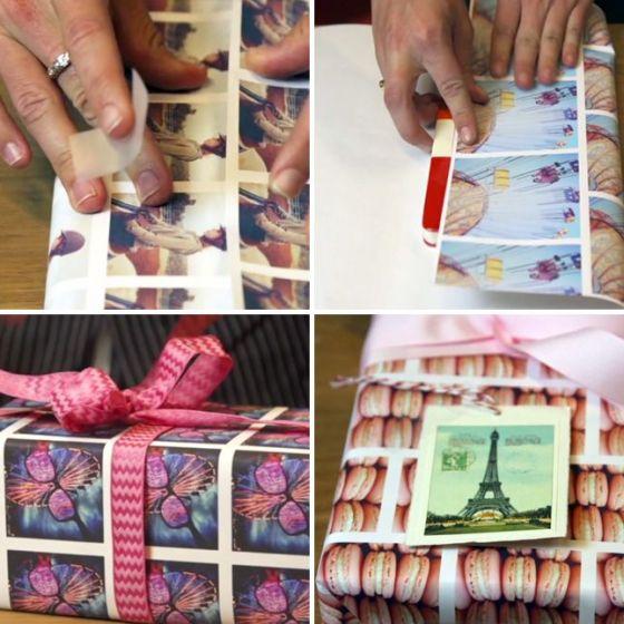 Instagram Gift Wrap