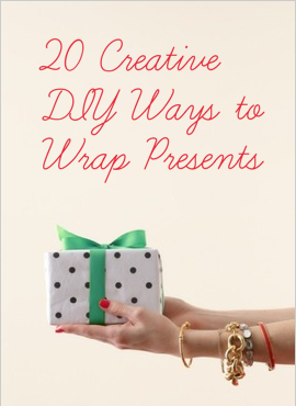 20 Creative DIY Ways to Wrap Presents