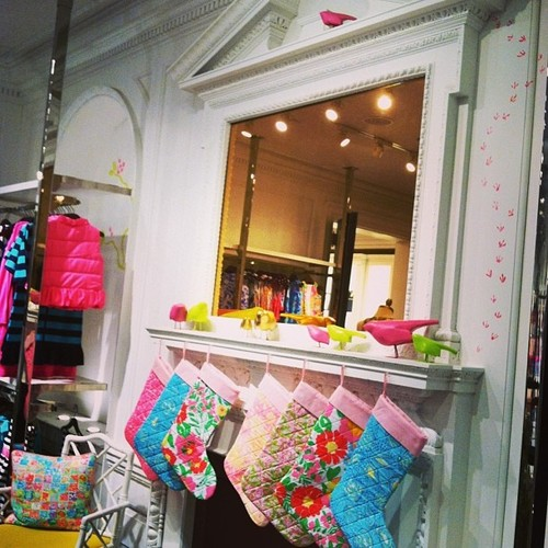 Lilly Pulitzer Christmas Stockings