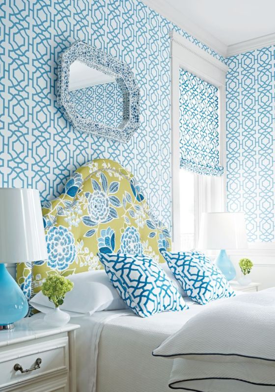Shades of Blue: Blue Bedrooms