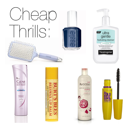 Beauty Products from the Drugstore