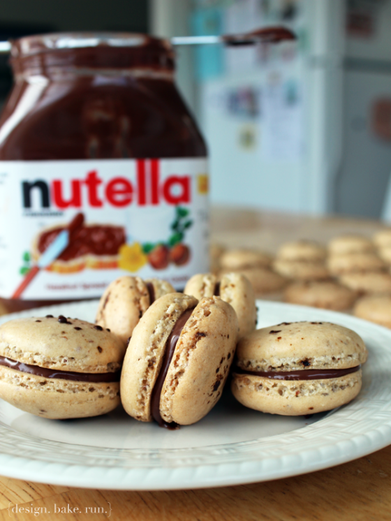 Coffee-Nutella-Macaroons