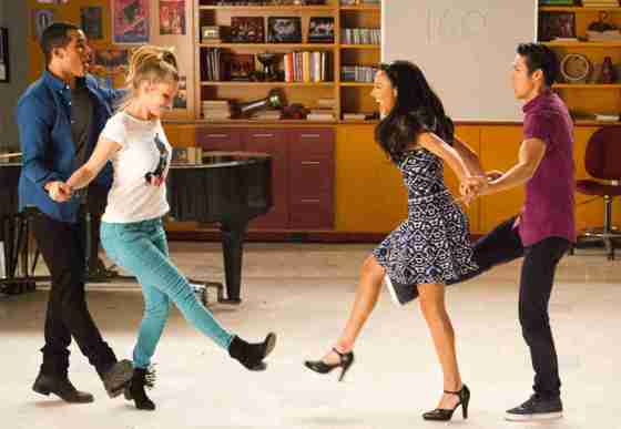 Fashion in Glee's 100th Episode