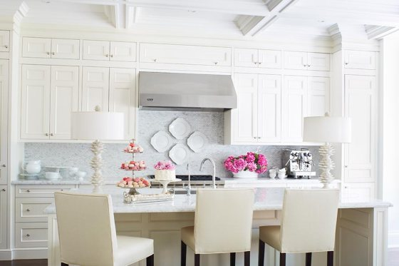 Preppy kitchen macaroons and peonies