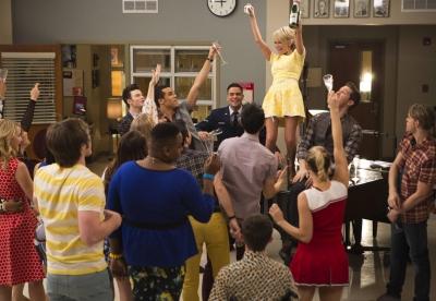 Kristen Chenoweth Glee 100th Episode