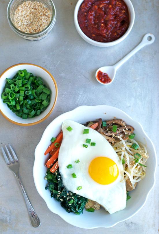 Vegetarian-Bibimbap
