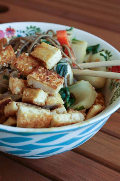Sesame-Tofu-Noodle-Bowl-with-Peanut-Sauce-recipe