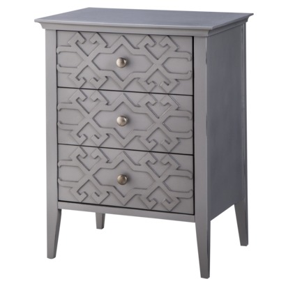 Fretwork Accent Table