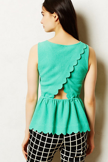 Clovelly-Peplum-Top