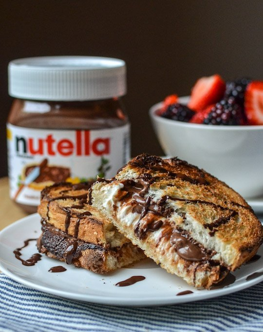 Nutella-Grilled-Cheese