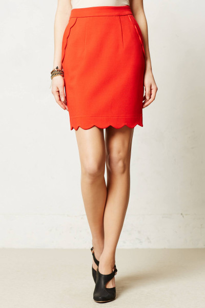 anthropologie-red-scalloped-brink-pencil-skirt