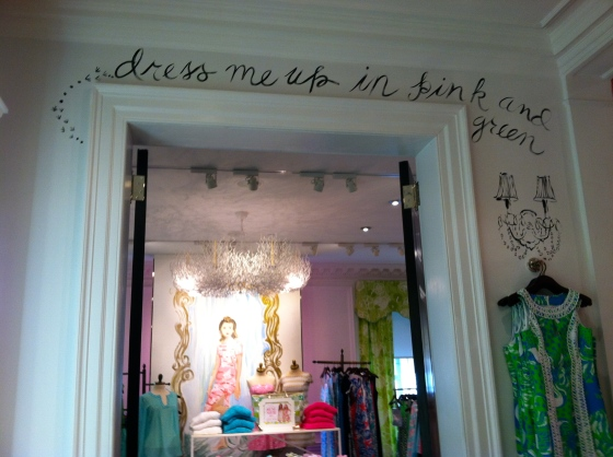 Lilly Pulitzer on Madison Avenue