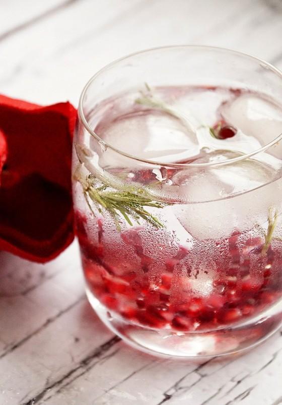 PomegranateRosemary Water