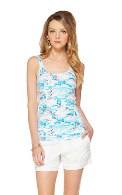 Tabbie Printed Tank Top