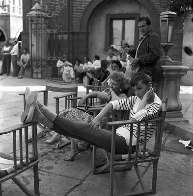 Audrey Hepburn French Look
