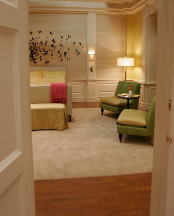Serena Van Der Woodsen's Bedroom at Blair's