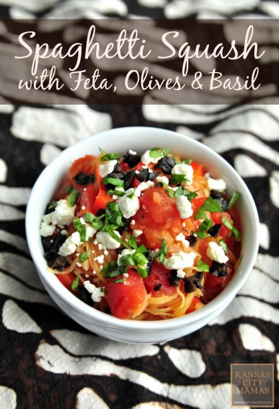 Spaghetti-Squash-Feta-Olives-Basil