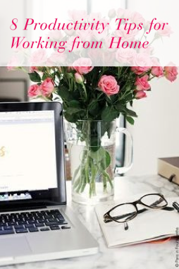 productivity tips work from home